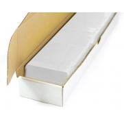 Blank plastic cards (white)
